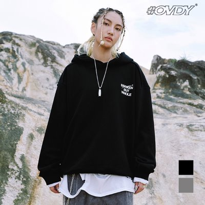 BROKEN BUT WHOLE HOODIE_DYMALVW9301