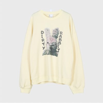 DIRTY RABBIT SWEATSHIRT_DYMALVW9325