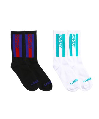 THREE LINE SOCKS_DYMXAVW6902